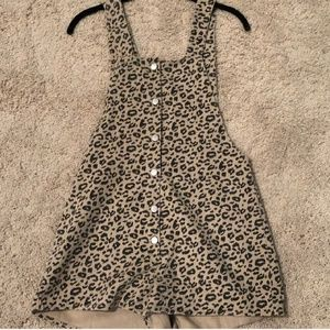 PINK LILY BOUTIQUE LEOPARD OVERALL